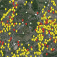 Map of natural gas leaks in Boston