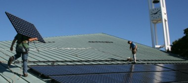 HEET helped First Parish, Arlington get solar installed in 2013
