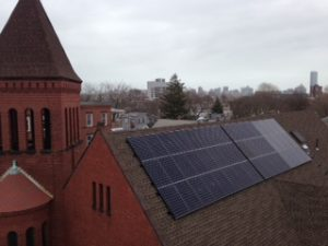 HEET helped Cambridgeport Baptist go solar in 2013