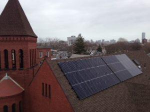 HEET helped Cambridgeport Baptist go solar in 2013
