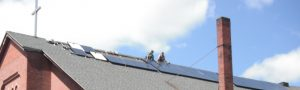 HEET helped St. Bartholomew's Church, Cambridge get solar in 2013