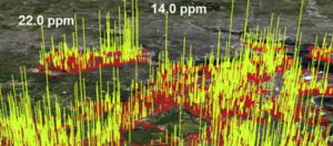 methane map